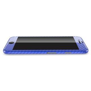 【iPhone6ケース】カーボン調 プレミアムスキンシール ブルー iPhone 6 スキンシール_2