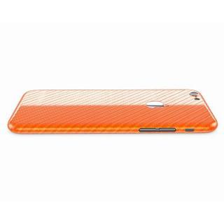 【iPhone6ケース】カーボン調 プレミアムスキンシール オレンジ iPhone 6 スキンシール_1
