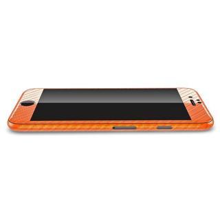 【iPhone6ケース】カーボン調 プレミアムスキンシール オレンジ iPhone 6 スキンシール_2