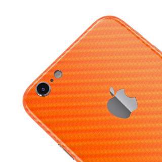 【iPhone6ケース】カーボン調 プレミアムスキンシール オレンジ iPhone 6 スキンシール_3