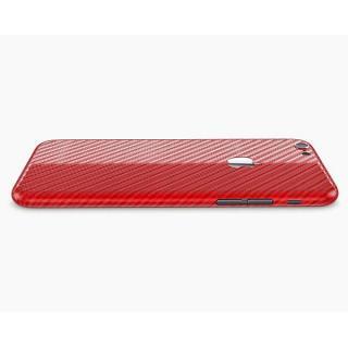 【iPhone6ケース】カーボン調 プレミアムスキンシール レッド iPhone 6 スキンシール_1