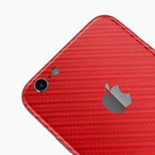 【iPhone6ケース】カーボン調 プレミアムスキンシール レッド iPhone 6 スキンシール_3