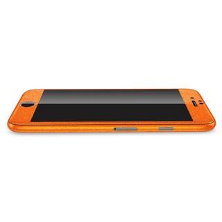 【iPhone6ケース】ラメ入り プレミアムスキンシール グリッターオレンジ iPhone 6 スキンシール_2