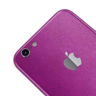 【iPhone6ケース】ラメ入り プレミアムスキンシール グリッターパープル iPhone 6 スキンシール_3