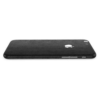 【iPhone6ケース】レザー調 プレミアムスキンシール ブラックレザー iPhone 6 スキンシール_1