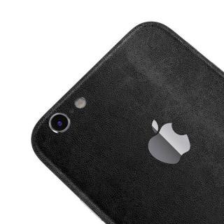【iPhone6ケース】レザー調 プレミアムスキンシール ブラックレザー iPhone 6 スキンシール_3