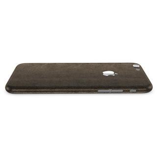 【iPhone6ケース】レザー調 プレミアムスキンシール ブラウンレザー iPhone 6 スキンシール_1
