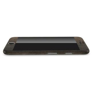 【iPhone6ケース】レザー調 プレミアムスキンシール ブラウンレザー iPhone 6 スキンシール_2