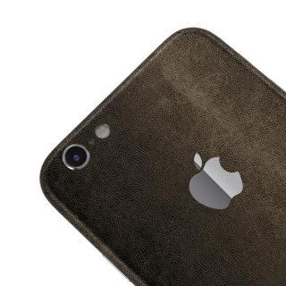 【iPhone6ケース】レザー調 プレミアムスキンシール ブラウンレザー iPhone 6 スキンシール_3