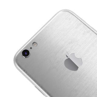 【iPhone6ケース】メタル調 プレミアムスキンシール ブラッシュドスチール iPhone 6 スキンシール_3