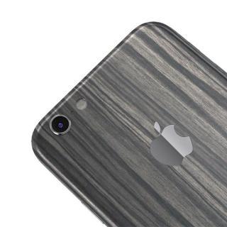 【iPhone6ケース】ウッド調 プレミアムスキンシール ダークエボニー iPhone 6 スキンシール_3