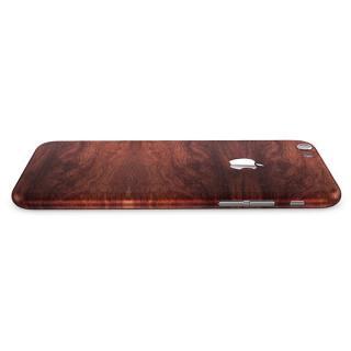 【iPhone6ケース】ウッド調 プレミアムスキンシール マホガニー iPhone 6 スキンシール_1