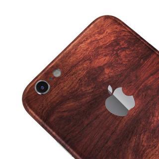 【iPhone6ケース】ウッド調 プレミアムスキンシール マホガニー iPhone 6 スキンシール_3