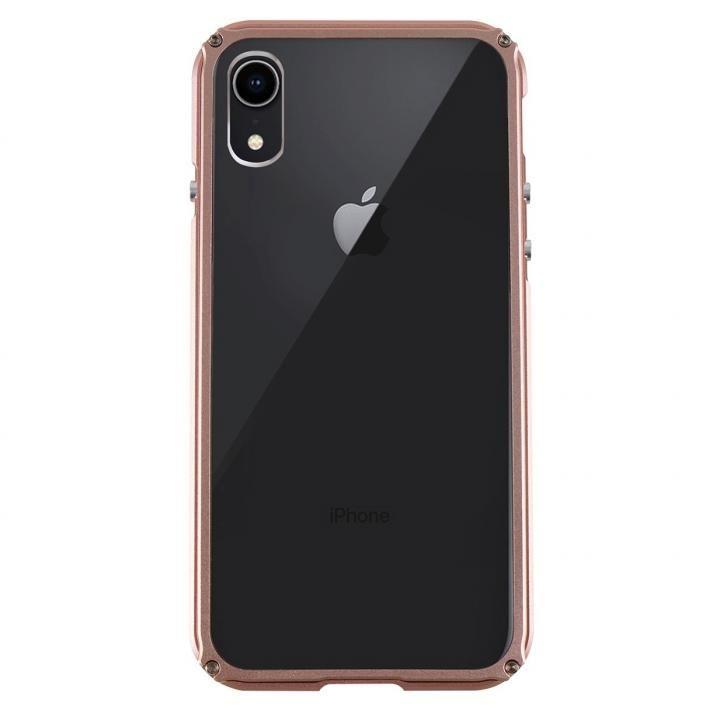 iPhone XR ケース アルミバンパー Razor Fit ローズゴールド iPhone XR_0