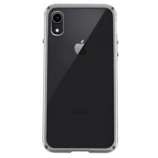 【iPhone XRケース】アルミバンパー Razor Fit シルバー iPhone XR