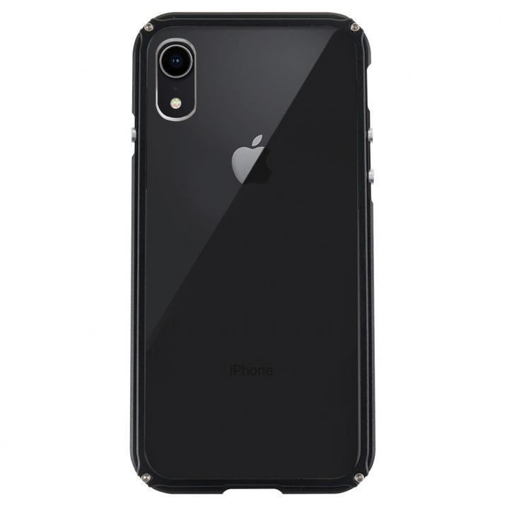 iPhone XR ケース アルミバンパー Razor Fit ブラック iPhone XR_0