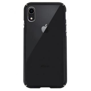 【iPhone XRケース】アルミバンパー Razor Fit ブラック iPhone XR