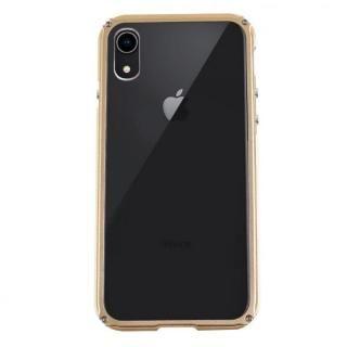 【iPhone XRケース】アルミバンパー Razor Fit ゴールド iPhone XR