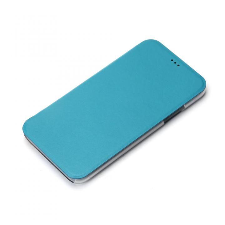 iPhone XS/X ケース iJacket 手帳型ケース ブルー iPhone XS/X_0