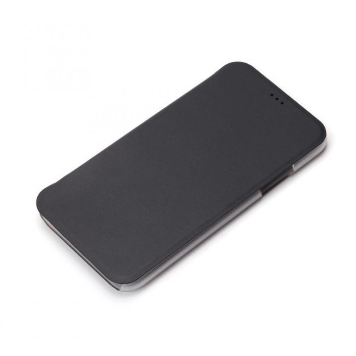 iPhone XS/X ケース iJacket 手帳型ケース ブラック iPhone XS/X_0