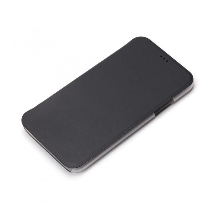 iJacket 手帳型ケース ブラック iPhone X