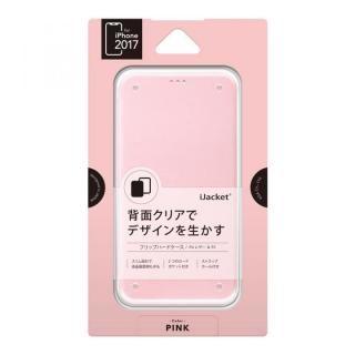 【iPhone XS/Xケース】iJacket 手帳型ケース ピンク iPhone XS/X_1