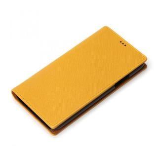 iJacket 手帳型ケース イエロー iPhone XS/X