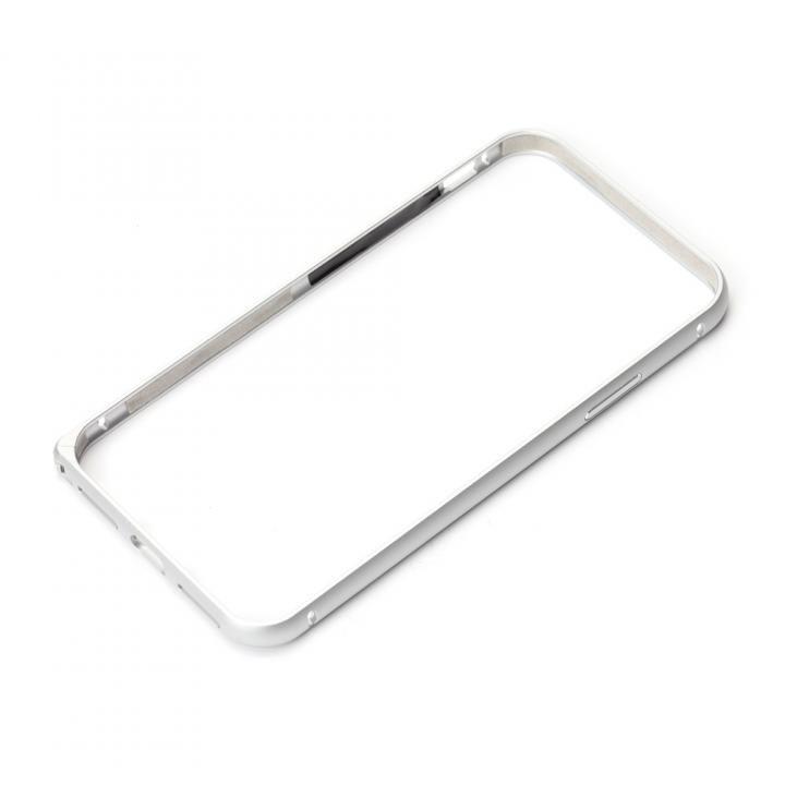 【iPhone XS/Xケース】Premium Style アルミバンパー ワンプッシュボタン シルバー iPhone XS/X_0