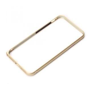 Premium Style アルミバンパー ワンプッシュボタン ゴールド iPhone XS/X