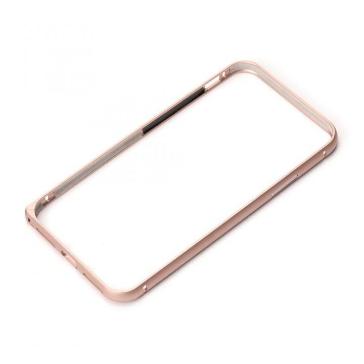 iPhone XS/X ケース Premium Style アルミバンパー ワンプッシュボタン ローズゴールド iPhone XS/X_0