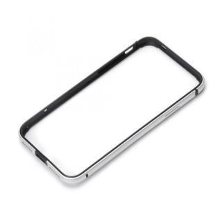 iPhone XS/X ケース Premium Style アルミ+TPUハイブリットバンパー シルバー iPhone XS/X