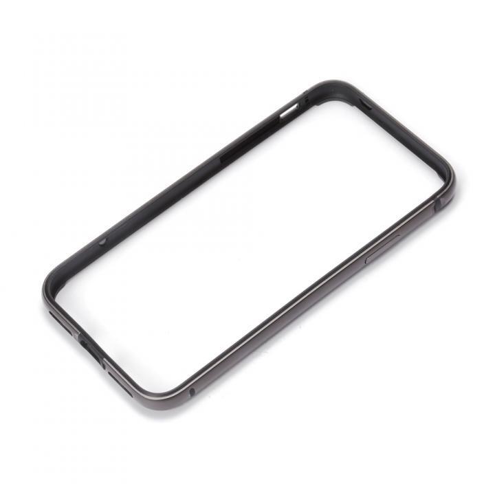 【iPhone XS/Xケース】Premium Style アルミ+TPUハイブリットバンパー ブラック iPhone XS/X_0