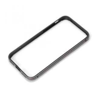 Premium Style アルミ+TPUハイブリットバンパー ブラック iPhone X