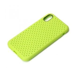 iJacket ドットメッシュケース グリーン iPhone X
