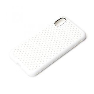 iJacket ドットメッシュケース ホワイト iPhone X