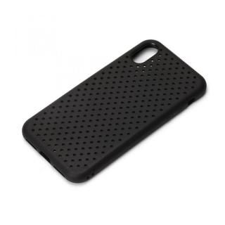 iJacket ドットメッシュケース ブラック iPhone X