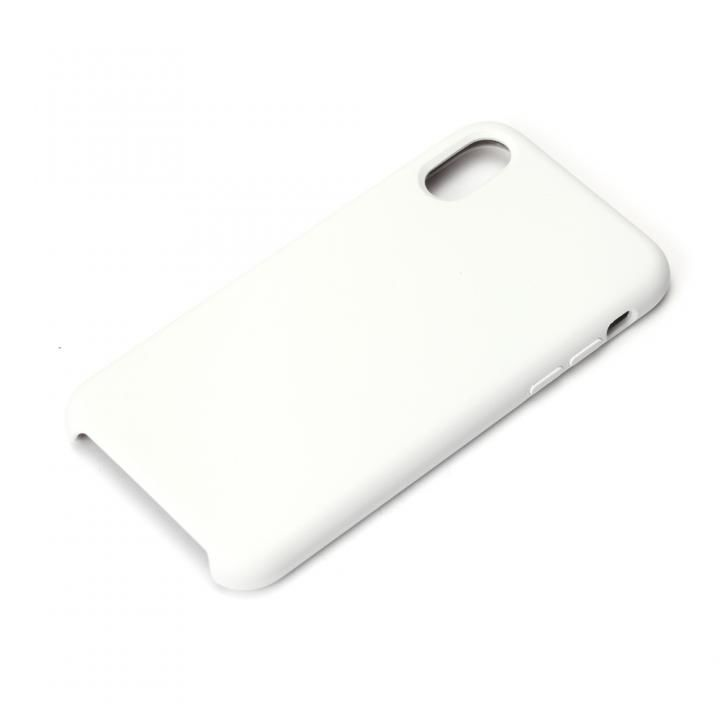 Premium Style シリコンケース ホワイト iPhone X