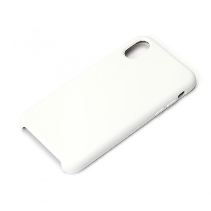 【iPhone XS/Xケース】Premium Style シリコンケース ホワイト iPhone XS/X_0