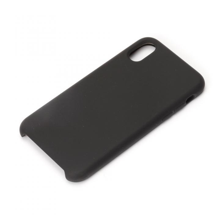 【iPhone XS/Xケース】Premium Style シリコンケース ブラック iPhone XS/X_0