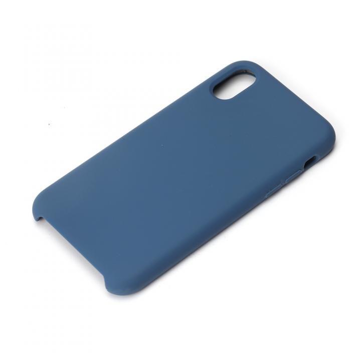 iPhone XS/X ケース Premium Style シリコンケース ネイビー iPhone XS/X_0