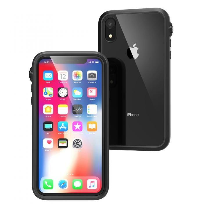 iPhone XR ケース カタリスト 衝撃吸収ケース ブラック iPhone XR_0