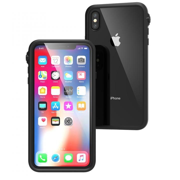 iPhone XS Max ケース カタリスト 衝撃吸収ケース ブラック iPhone XS Max_0