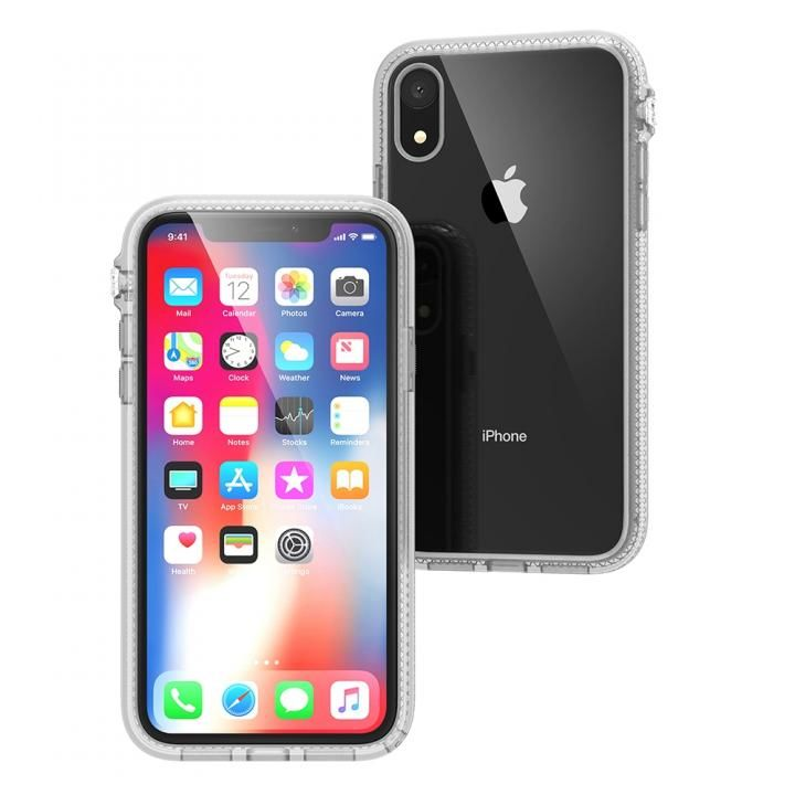 iPhone XR ケース カタリスト 衝撃吸収ケース クリア iPhone XR_0