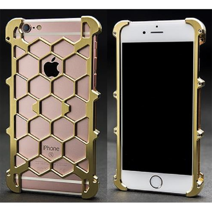 【iPhone6s/6】アルミ削り出し プロテクターケース 真鍮 iPhone 6s/6_0