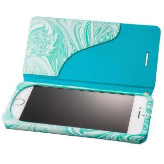 【iPhone8/7ケース】GRAMAS FEMME Mab PUレザー手帳型ケース ブルー iPhone 8/7_1