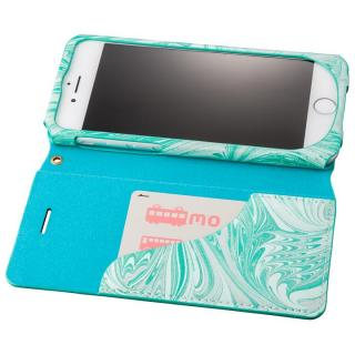 【iPhone8/7ケース】GRAMAS FEMME Mab PUレザー手帳型ケース ブルー iPhone 8/7_2