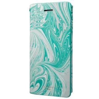 【iPhone8/7ケース】GRAMAS FEMME Mab PUレザー手帳型ケース ブルー iPhone 8/7_4
