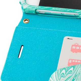 【iPhone8/7ケース】GRAMAS FEMME Mab PUレザー手帳型ケース ブルー iPhone 8/7_6