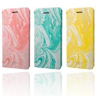 【iPhone8/7ケース】GRAMAS FEMME Mab PUレザー手帳型ケース ブルー iPhone 8/7_9