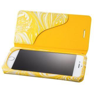iPhone8/7 ケース GRAMAS FEMME Mab PUレザー手帳型ケース イエロー iPhone 8/7